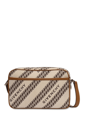 Bond Cotton Canvas Jacquard Camera Bag