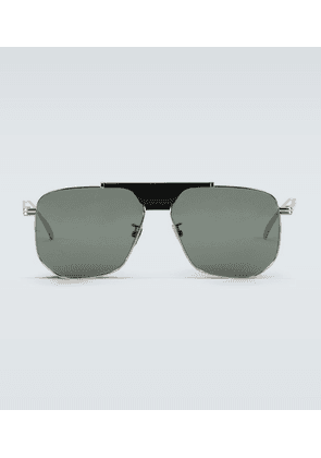 Metal frame sunglasses