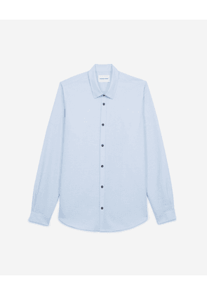 The Kooples - Blue cotton shirt for men  - MEN
