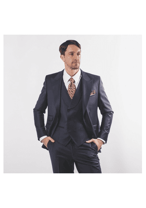 John Victor Vincent Suit Navy Colour: Navy,
