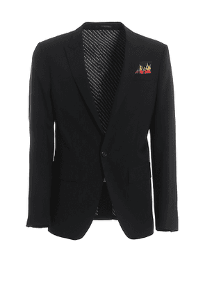 Berlin stretch virgin wool suit