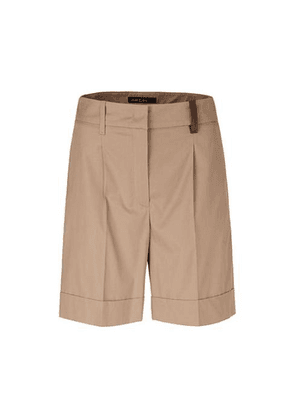 Marc Cain Collections Cotton Shorts Clay NC 83.02 W60