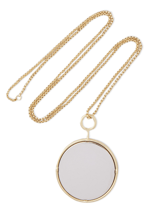 Jw Anderson Gold-plated And Silver-tone Necklace Woman Silver Size --