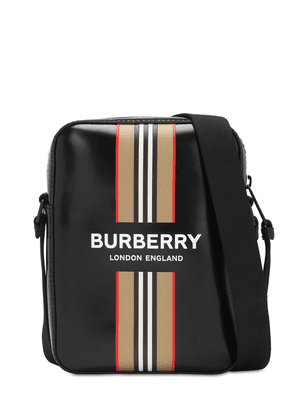 Thornton Icon Stripe Coated Canvas Bag