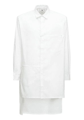 Classic Cotton Blend Long Shirt