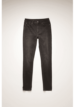 Acne Studios Peg Used Blk Used black High-rise skinny jeans