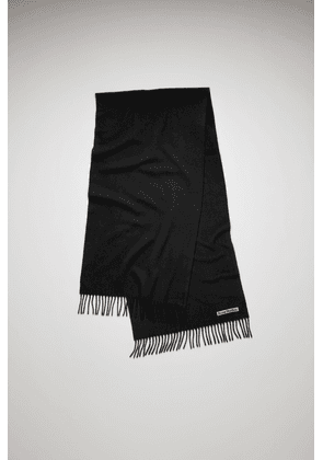 Acne Studios Canada Nr New Black  Narrow wool scarf