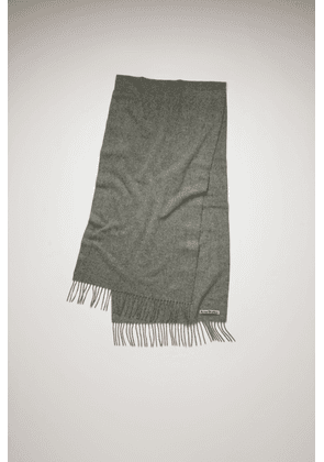 Acne Studios Canada Nr New Grey Melange  Narrow wool scarf