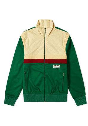 Gucci Technical Jersey GG Track Jacket