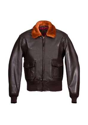 Dark Brown M422A Leather Jacket