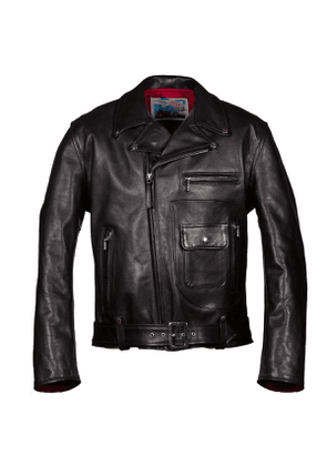 Black Daytona Motorcycle Leather Jacket