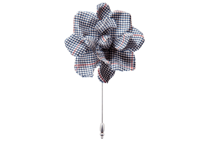 Summer Solent Flower Lapel Pin