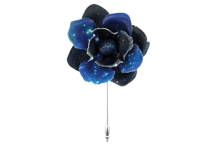 Constellation Flower Lapel Pin