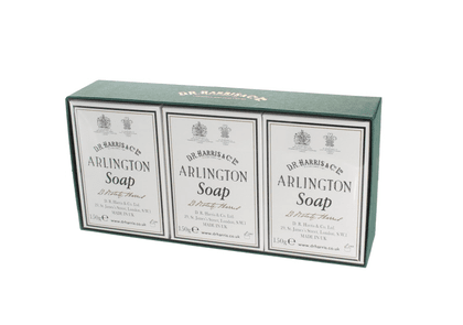 Arlington Bath Soap Box of Three