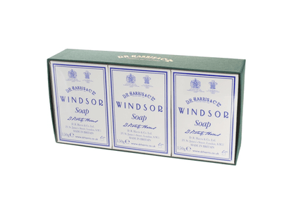Windsor Bath Soap Box of Three
