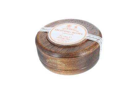 Sandalwood Traditional Shaving Soap with a Mahogany Bowl