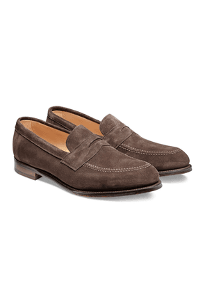 Dark Brown Soft Hadley Penny Loafers