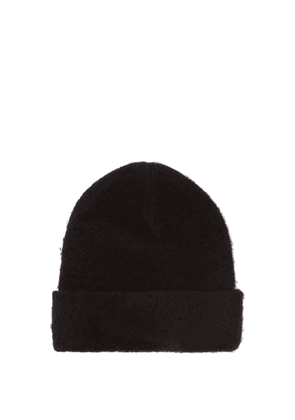Acne Studios - Pilled Wool-blend Beanie Hat - Mens - Black