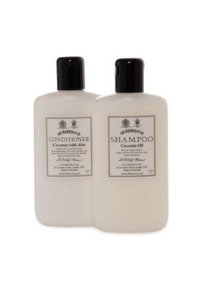 Coconut Shampoo and Conditioner Set