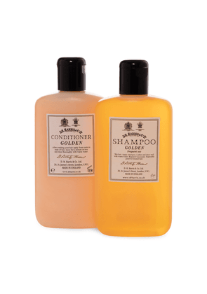 Golden Shampoo and Conditioner Set