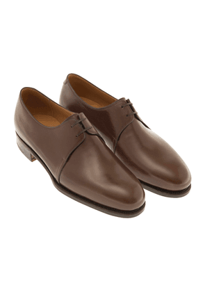 Brown Leather 1883 Heritage 302 Derby Shoes