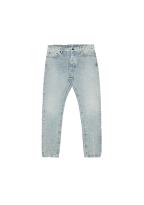PALM ANGELS Back Logo jeans from the Pre F/W2020-21 collection in washed blue Men Size 32 EU