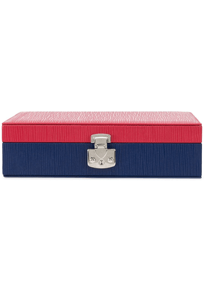 RAPPORT two tone jewelry box - Blue
