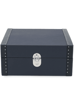 RAPPORT Kensington six leather watch box - Blue