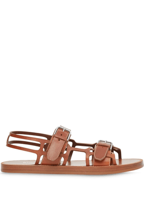 Burberry Webb sandals - Brown