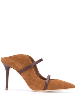 Malone Souliers Maureen mule pumps - Brown
