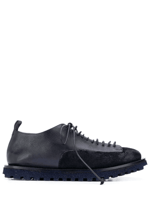 Marsèll contrast panel derby shoes - Blue