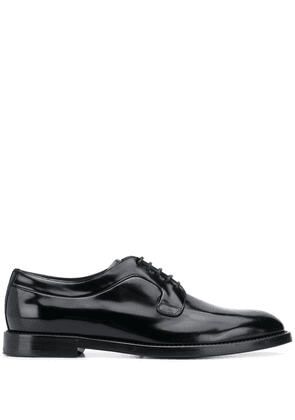 Dolce & Gabbana leather oxford shoes - Black