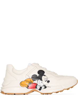 Gucci x Disney Rhyton Mickey Mouse sneakers - NEUTRALS