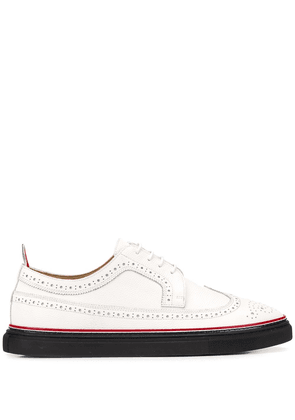 Thom Browne Longwing RWB cupsole brogues - White