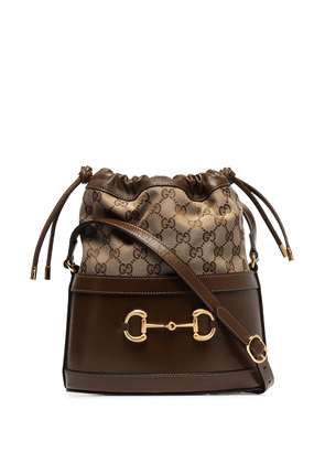 Gucci Horsebit 1955 bucket bag - Brown