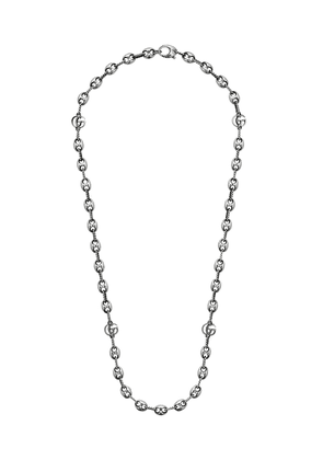 Gucci GG-chain necklace - SILVER