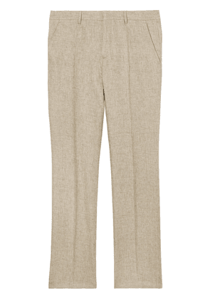 Burberry classic fit tailored trousers - Neutrals