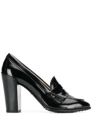 Tod's loafer style pumps - Black