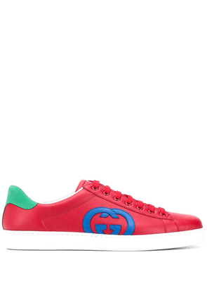 Gucci Interlocking G Ace sneakers - Red