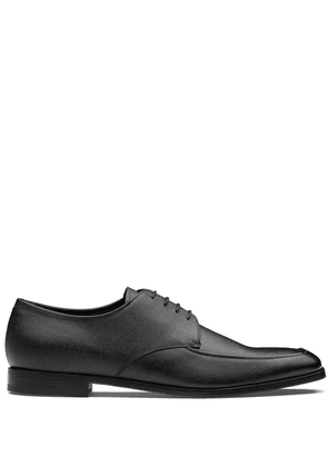 Prada square toe Derby shoes - Black