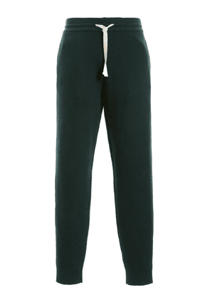 Casablanca Cotton-Knitted Track Pants