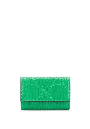Gucci GG embossed folding keycase - Green