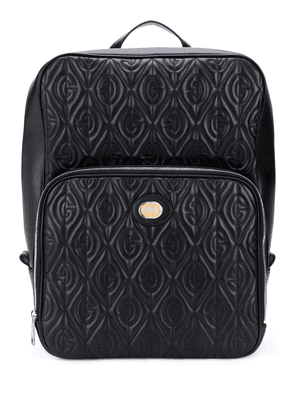 Gucci GG embossed backpack - Black