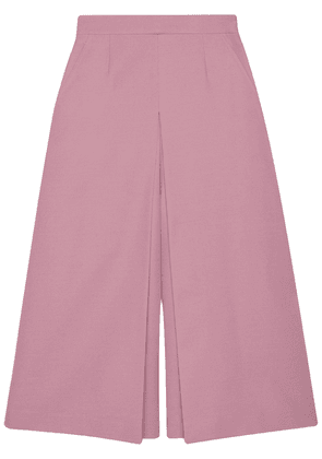 Gucci double-layer wide-leg culottes - PINK