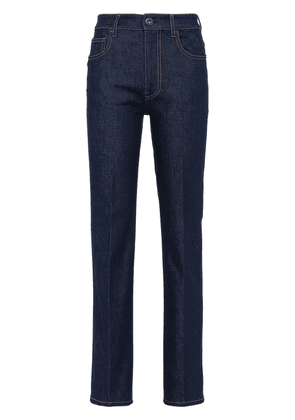 Prada high-rise five-pocket jeans - Blue