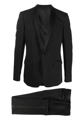 Dolce & Gabbana wool-silk mix single breasted suit with shawl lapels -