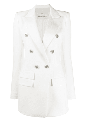 Alexandre Vauthier double-breasted fitted jacket - White
