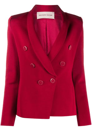 Alexandre Vauthier slim-fit double breasted blazer - Red