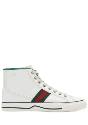 10mm Gucci Tennis 1977 Canvas Sneakers