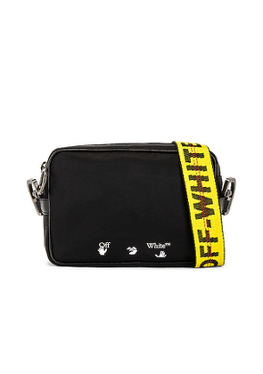 OFF-WHITE Nylon Crossbody Bag in Black.